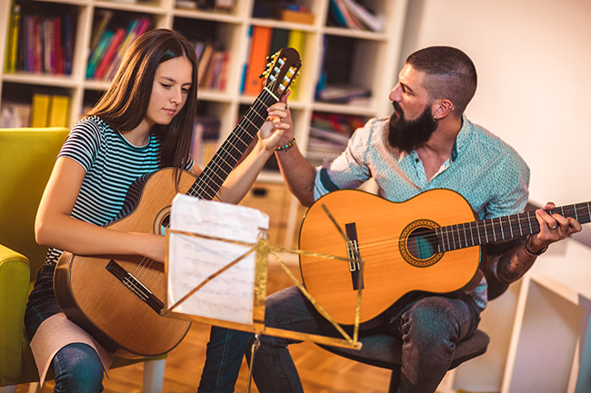 Free Guitar Tuition Worksheets for Your Music Teaching Business