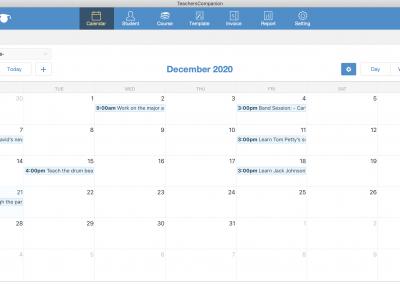 Calendar - Month View